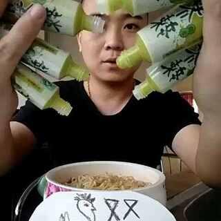 #辣根挑战##美拍新人王##美食U乐国际娱乐吃饭#