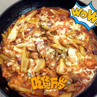 致敬男神@香喷喷的小烤鸡 做的#春川鸡排#,好吃爆了~#美食##pk香喷喷的小烤鸡#