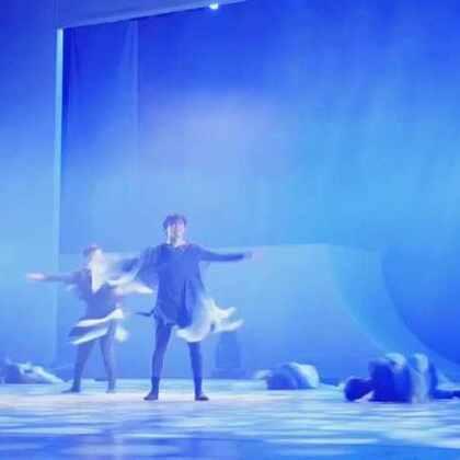 #舞蹈#@刘福洋87号 作品《素写》舞蹈专场..(天的天边)@巴桑顿珠-GB @贤、哥哥