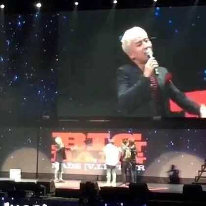 四个人一起欺负胜利。中文棒棒搭!#60秒美拍##BIGBANG在美拍##bigbang##bigbang胜利讲中文,萌萌哒##bigbang上海演唱会##音乐#