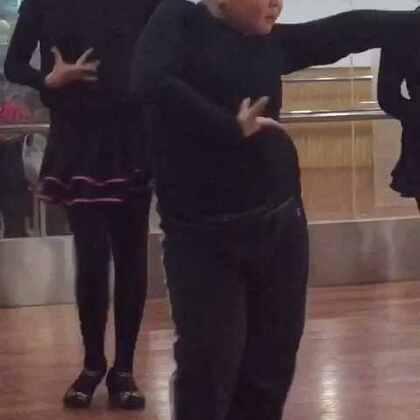 还有个伦巴👯#拉丁舞##可爱小胖#