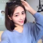 #时尚##韩式短发发型#我自己最近特别喜欢的发型 就分享给大家啦 简单一些 墨镜最后也是重点装饰哦 这个视频的妆容下次给大家分享哦 微博:陆小丫LYY 微信:LYY12148888