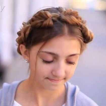 辫子也可以花样扭出来,希腊女神般的优雅气质你也可以轻松get到。😍😍#时尚发型##发型教程##辫子##希腊女神#