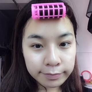 #不用镜子化妆#吓死爷了