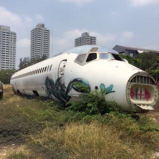 #旅行#在泰国的小飞机坟场#跑酷环球旅行#