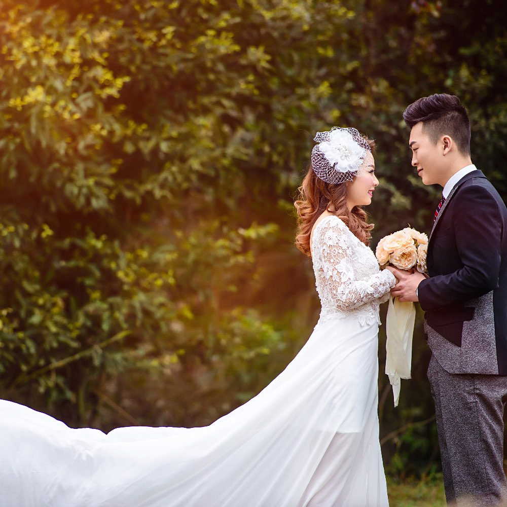 结婚照图片