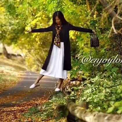 #旅行##堪培拉##秋天#充满深秋韵味的小路