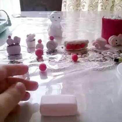 少女心草莓玫瑰蛋糕,绝对原创,模仿艾特#初学者粘土教程##00后粘土大战#望大神转发@Queen.粘土女王👑~💕 @Ni🙈Chuuuuu. @张小瑜🐟