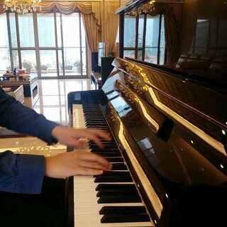 #音乐##钢琴# 《Wedding》幸福版 (弹完满满的爱意,送给已经结婚和即将结婚的朋友,听着幸福的音乐,过着甜蜜的生活,祝福你们!❤)#婚礼##我要上热门##钢琴曲#