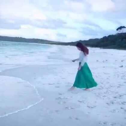 #旅行##澳洲#Jervis Bay-忘不了,那片海……