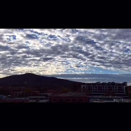 #延迟摄影##旅画映像#海浪状云朵