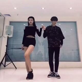 双人舞-knock#舞蹈##韩舞##韩国舞蹈# 原来录的视频