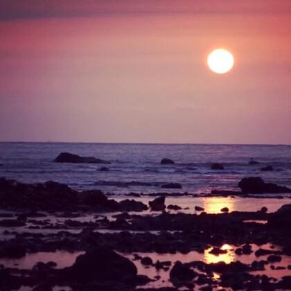 #旅行##随手美拍##夕陽##台灣#淡水 夕陽無限好 到漁人碼頭