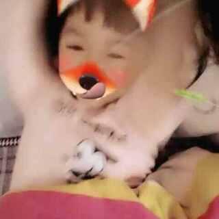 #faceu##搞笑宝宝#挠痒痒,哈哈