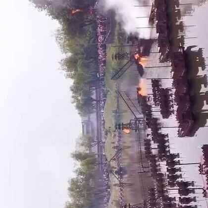 三国中著名战役火烧赤壁现实版#我要上热门##5分钟美拍##照片电影#