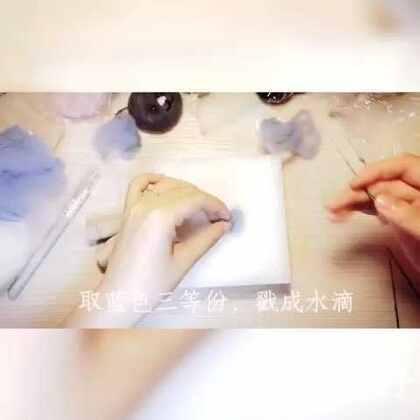 羊毛毡制作过程#美拍大师##羊毛毡##手工制作##制作过程##教程#