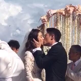 #霍建华林心如结婚# 双击送祝福㊗️。么么哒😘#随手美拍##60秒美拍#