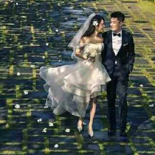 #霍建华林心如结婚#紫薇格格今天大喜💑💑百年好合啦🎉
