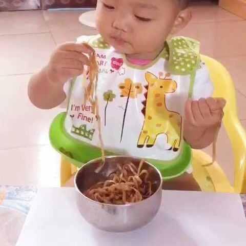 吃面矢量图筷子