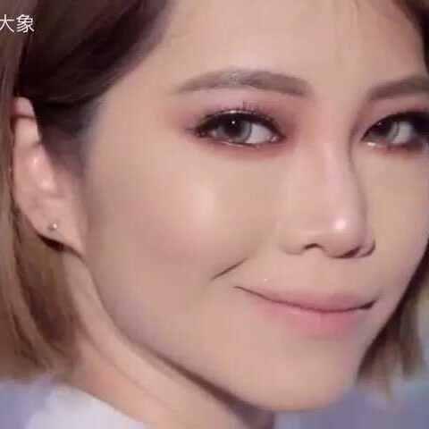 【老鼠pa大象美拍】黄金化妆教程#美妆时尚##美妆教...