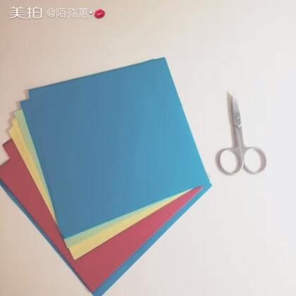 #怎样把卡纸变大##手工##手工折纸##创意手工##手工卡片##折纸##创意折纸#