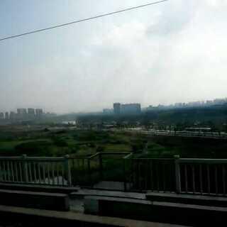 高铁沿途风景#从成都到重庆永川~mmd