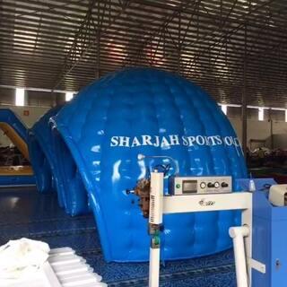 #广州市佳凯气模厂定做充气帐篷##充气气模定制联系方式:邝小姐,微信&手机:13535056311#