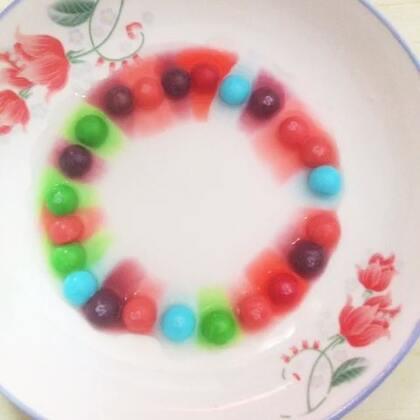 #吃秀直播#😘😘😘😘吃出新高度 彩虹糖🌈🌈