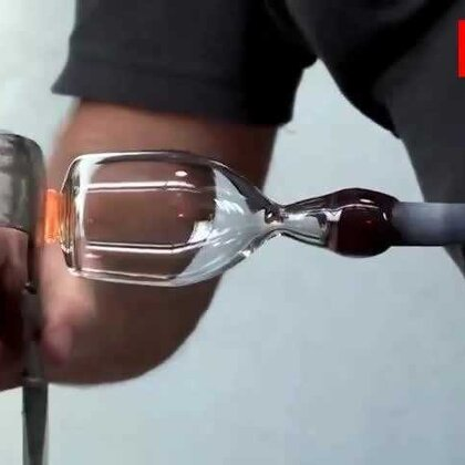 #涨姿势#太帅了!玻璃制品做出的龙头👍👍