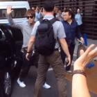 #张根硕#浦东VVIP H区送机,和我们挥手风一吹小肚子也露出来了 羞羞😍上海行圆满^^