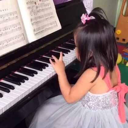 索菲亚3岁11个月《汤普森教程1》弹奏曲目