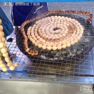 泰国街头不知名小吃,超级Q弹软糯,超大份,白菜价,良心啊😍#美食##品美食迎中秋##泰国之旅#