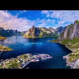 航拍世界上最美的渔村,简直美得无与伦比#人物| 作者##喜号##航拍##无人机##华夏地理#