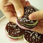 巧克力棉花糖饼干😊http://tv.doubimei.com/109.html