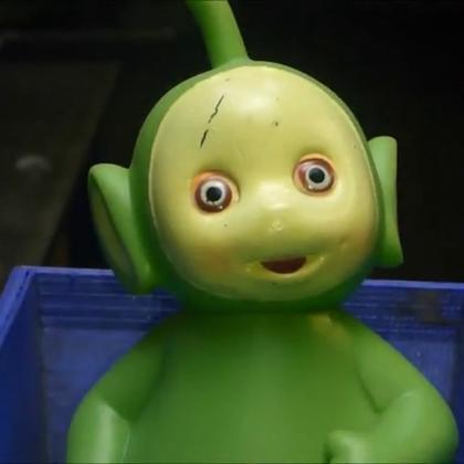 #拯救强迫症#《OH-NO! 天线宝宝搅碎碎!》好诡异的眼睛。。。晚上会不会做噩梦!😱《重口味,黑头,脓包,微信公众号:aqp120 》昨日已更新。。。
