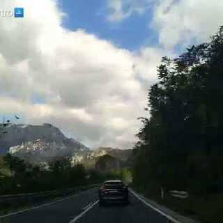 #在路上#行驶在前往萨拉热窝的路上