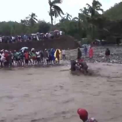 现场直击:飓风马修肆虐后的海地