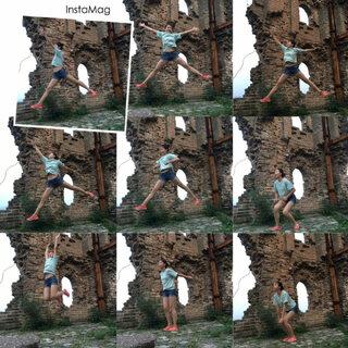 #jumping##随手美拍##长城#