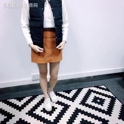 #今天穿这样# #时尚美搭# #一秒变网红##多商网# http://m.ecduo.cn/goods-2967427.html 超百搭的羽绒马甲~九种颜色可选~模特表示穿着很舒服👏👏👏