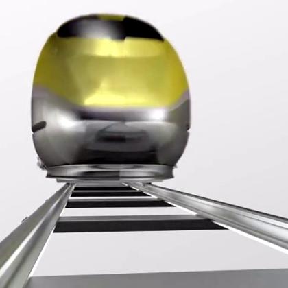 #涨姿势#2分钟视频演示:动车轮子是如何制造的!