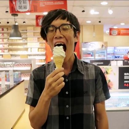 今天高高興興去購物!沒想到竟發生意外...再見了冰淇淋😭😭😭😭😭😭 #逗比##搞笑##寶寶##KUSO##親子#