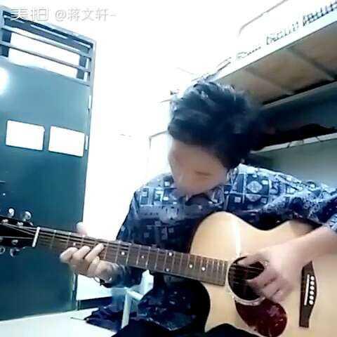 【蔣文軒-美拍】#廣州民航##指彈吉他##鐵血丹心#.圖片