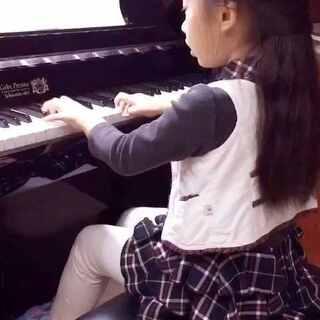 #小小钢琴家##小小钢琴家#小公主独奏练习🌱🌱🌱【车尔尼Op .599 No .30《可爱的小步舞曲》】小分享💪💪💪