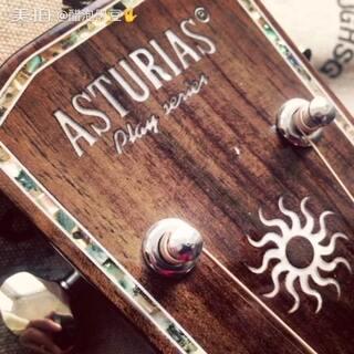 #美拍吉他弹唱大赛##阿斯图里亚斯吉他大赛##阿斯图里亚斯#感谢阿斯图里亚斯吉他,非常赞的吉他!