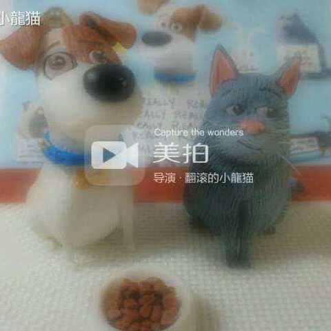 龙猫93软陶作品~《爱宠大机密~蠢猫》教程~萌萌
