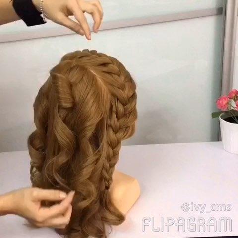 分享 化妆发型教学IvyChong 的美拍