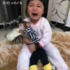 难舍难分啊#宝宝##宠物##家有宠物#@美拍小助手