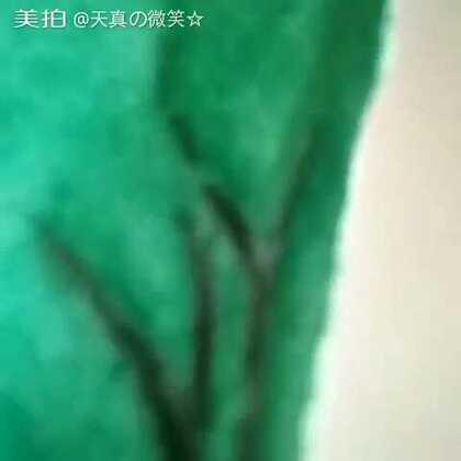 #手绘水彩书签#