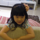 #宝宝#4岁时拍的小视频,那时候还是个小萌妹子啊。