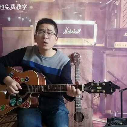 《天使的翅膀》弹唱片段 红星吉他免费教学-红星吉他免费教学的美拍图片